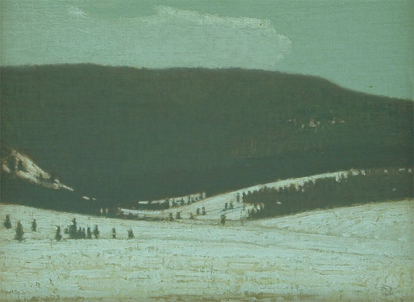 Grouse Ridge In Winter